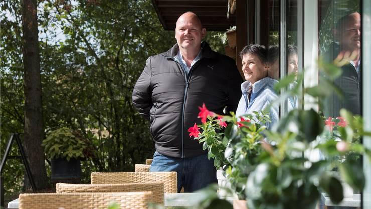 Annamarie und Thomas Burger sind die Betreiber des Liegehalle-Beizlis.