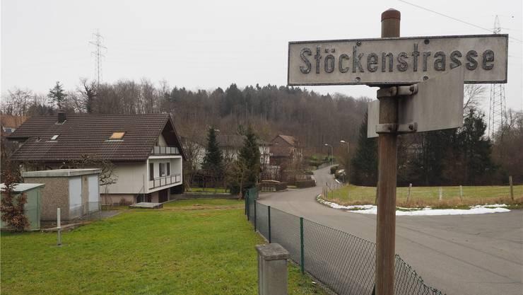 Wo Olten den Hausmüll einst deponierte: In Obergösgens Stöckenfeld, an welches die Stöckenstrasse erinnert.