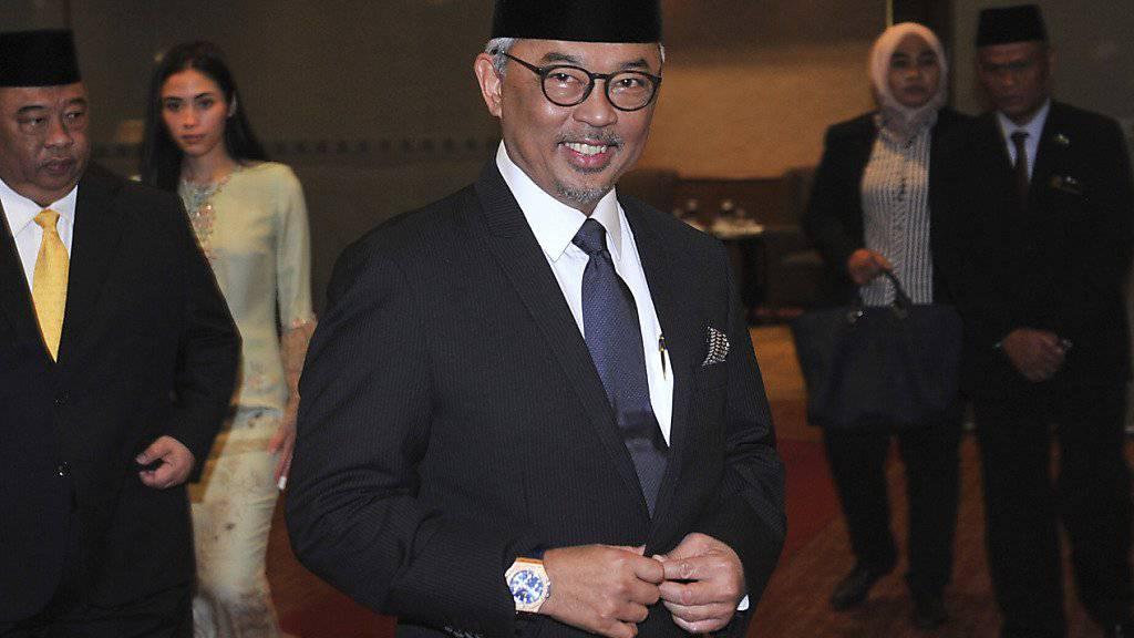 Tengku Abdullah ist der neue König Malaysias. Sein Amt ist auf fünf Jahre befristet. (Archivbild)