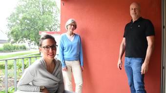 Von links: Isabelle Bechtel, Susanne Looser und Ernesto Hitz.