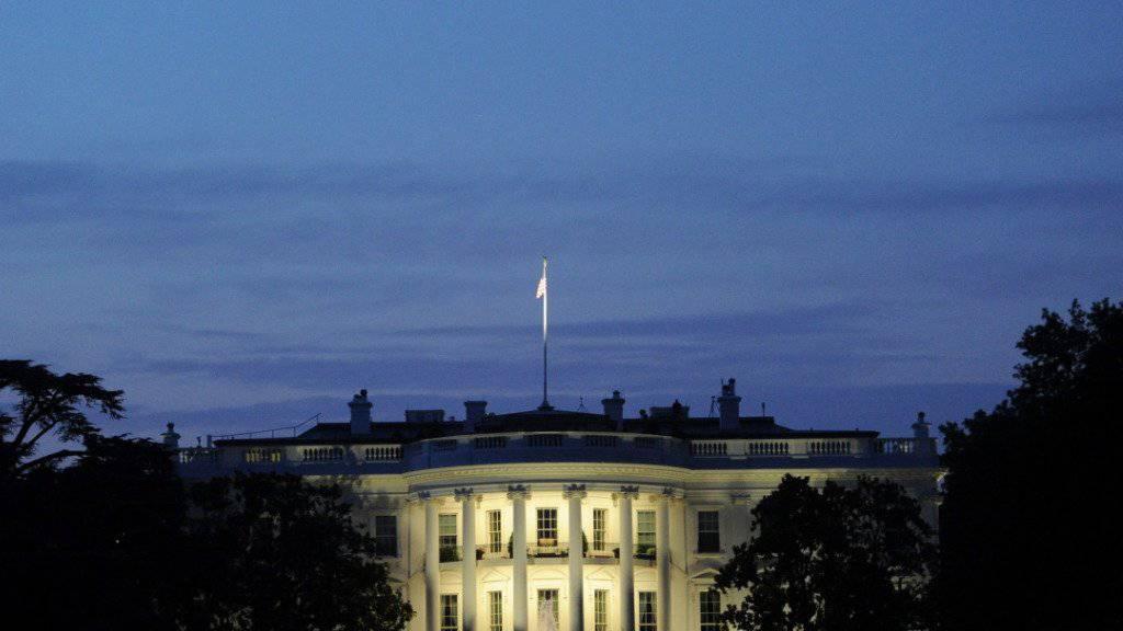 Die US-Regierungszentrale: Das Weisse Haus in Washington. (Archivbild)