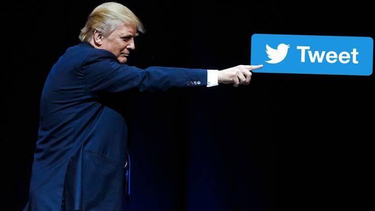 Er kann es nicht lassen: Donald Trump und seine Twitter-Abhängigkeit.