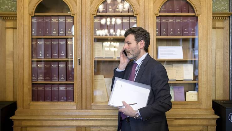 «Das institutionelle Rahmenabkommen wird vom Bundesrat in der ausgehandelten Form nicht unterzeichnet werden», sagte Balzaretti an einer Veranstaltung zum Thema Schweiz - EU in Mendrisio.