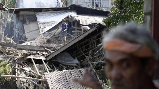 Der Taifun Nari wütete bereits in den Philippinen (Archivbild)