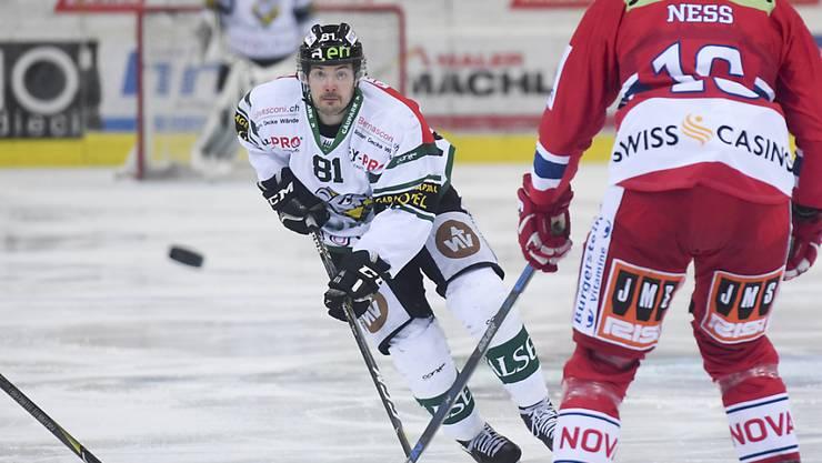 Jewgeni Schirjajew (Nummer 81) feierte mit Olten den achten Meisterschaftssieg in Folge