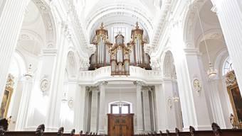 Nach dem Brandanschlag wird die Kathedrale am Sonntag eingeweiht.