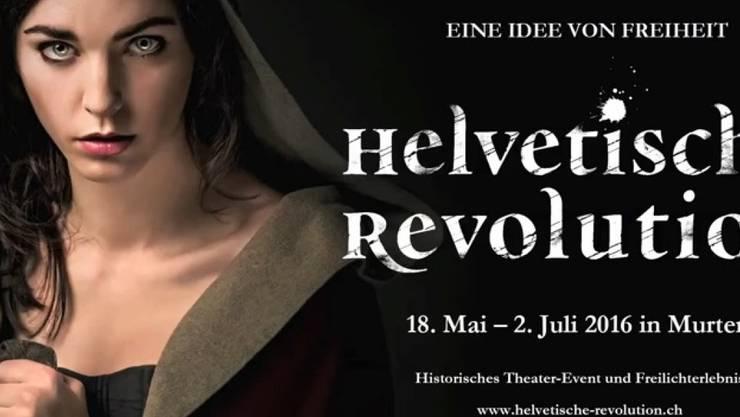 """""""Die Helvetische Revolution"""" kommt - 2016 am Murtensee (Handout)"""