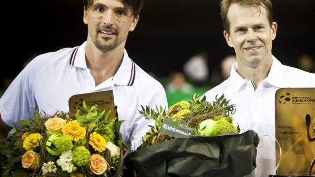 Ivanisevic und Edberg