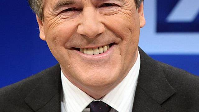Hat gut lachen: Deutsch-Bank-Chef Josef Ackermann (Archiv)