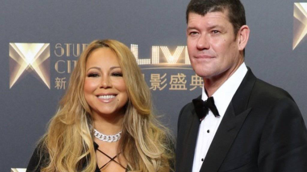 Milliardär James Packer und Sängerin Mariah Carey sind verlobt, das Liebespfand wiegt 35 Karat (Archiv).