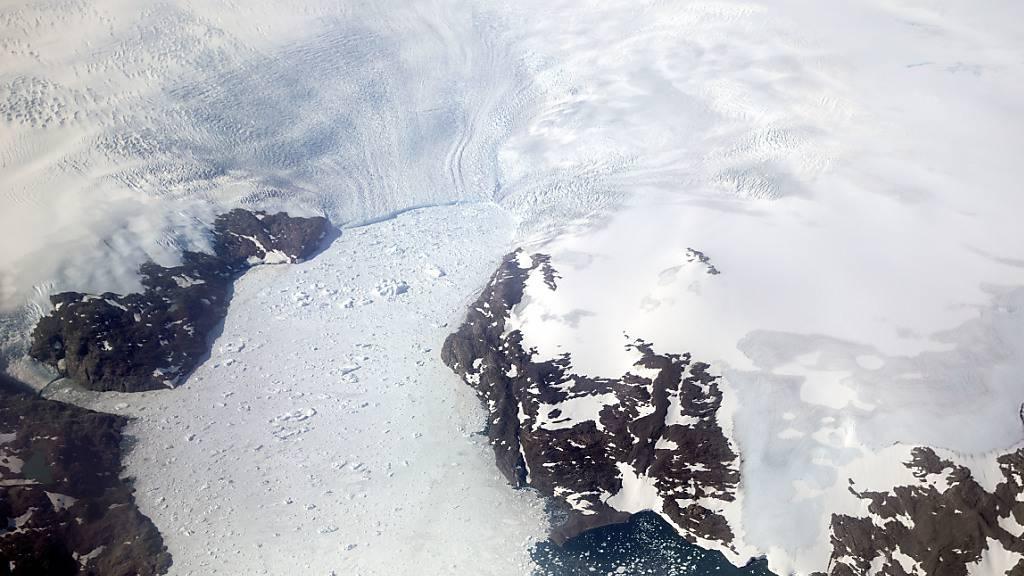 Erde verlor Billionen Tonnen Eis
