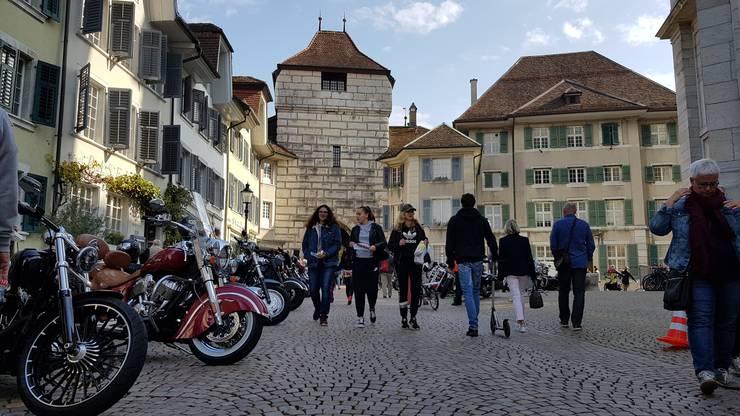 Heute Sonntag ist wieder Harley Parade. Ab 11 Uhr reihen sich die Motorräder beim Baseltor auf