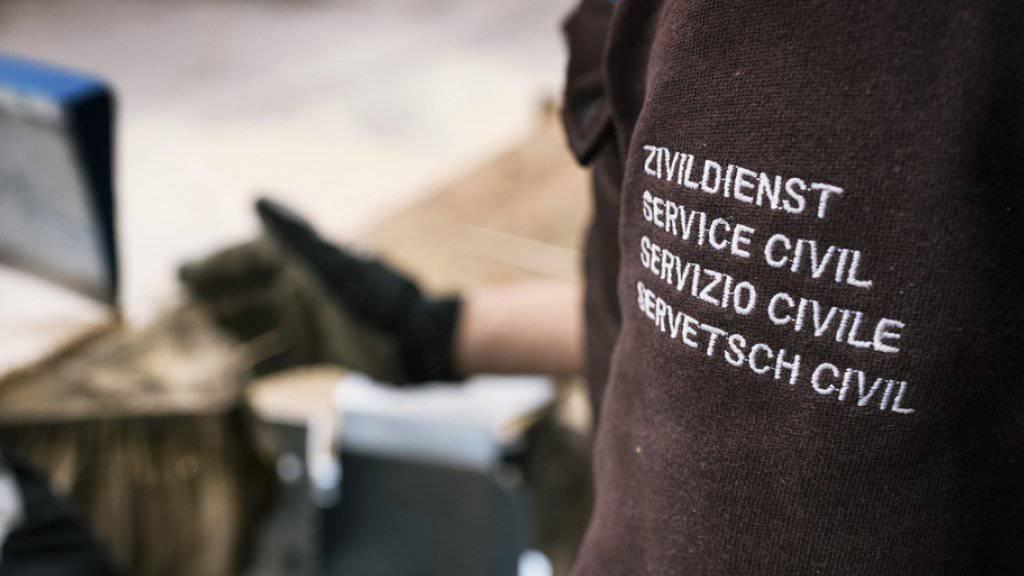 Die Sicherheitspolitische Kommission des Nationalrates will Wechsel von der Armee zum Zivildienst erschweren. (Symbolbild)