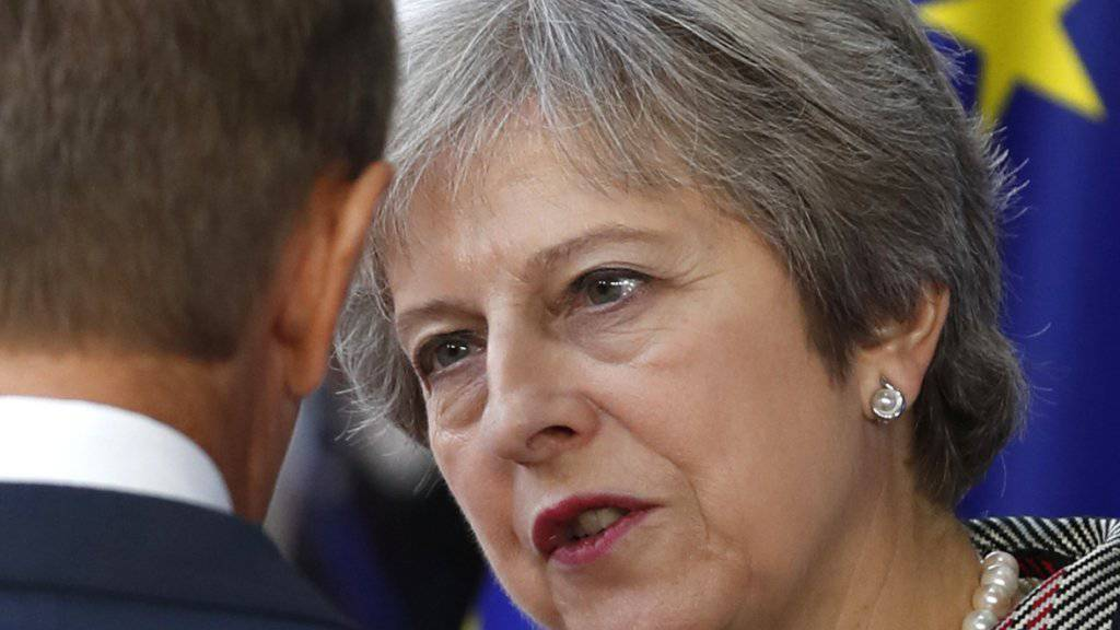 Nach Ansicht der britischen Premierministerin Theresa May ist das Brexit-Abkommen zu 95 Prozent fertig.