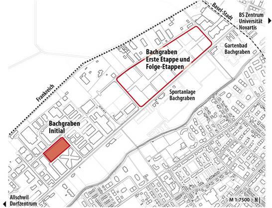 So sieht der neu veröffentlichte Plan zum neuen Innovationspark aus.