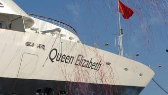 Das Schiff hat eine prominente Taufpatin