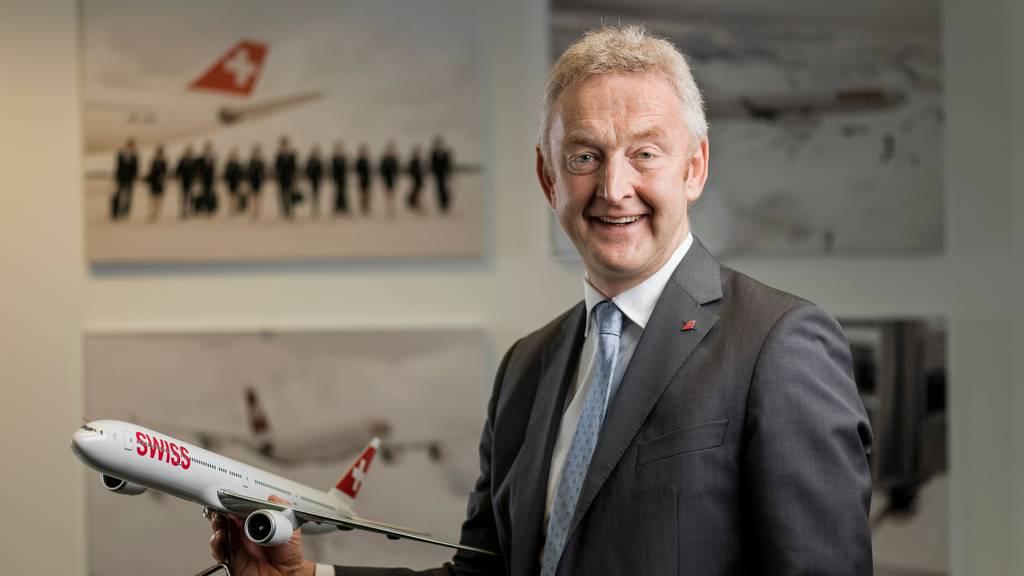 Ende 2020 ist Schluss: Swiss-Chef Thomas Klühr geht