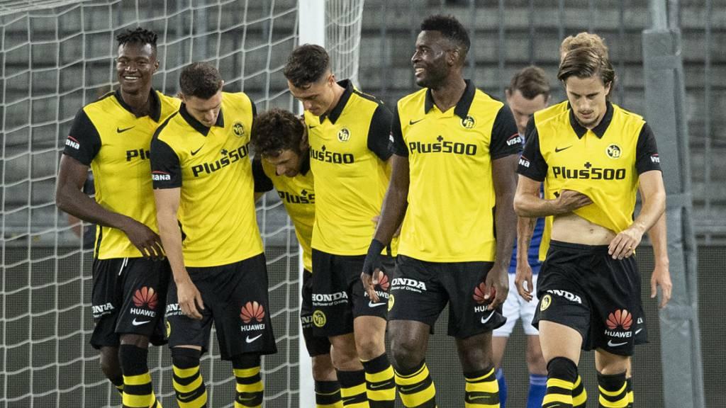 Young Boys ringen Underdog Klaksvik nieder