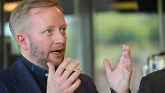 Der neue EHCO-Trainer Fredrik Söderström