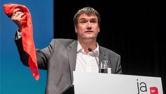 Das rote Tuch: Kritik gegenüber dem Parteipräsidenten Christian Levrat ertönt innerhalb der SP höchstens ganz leise. Alexandra Wey/Keystone