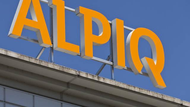 Das Logo des Stromkonzerns Alpiq (Archiv)