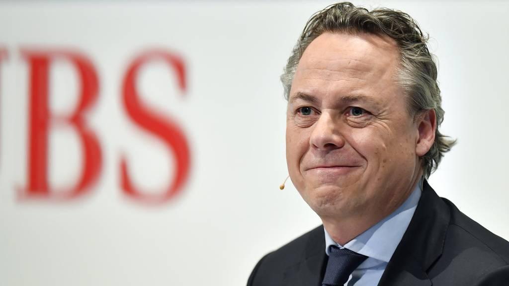 Der Niederländer Ralph Hamers ist seit dem 1. November 2020 CEO der UBS.