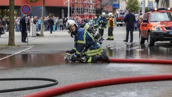 Feuerwehrübung in Grenchen