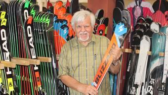 Fridolin Karrer hat den Sportshop Karrer gegründet.