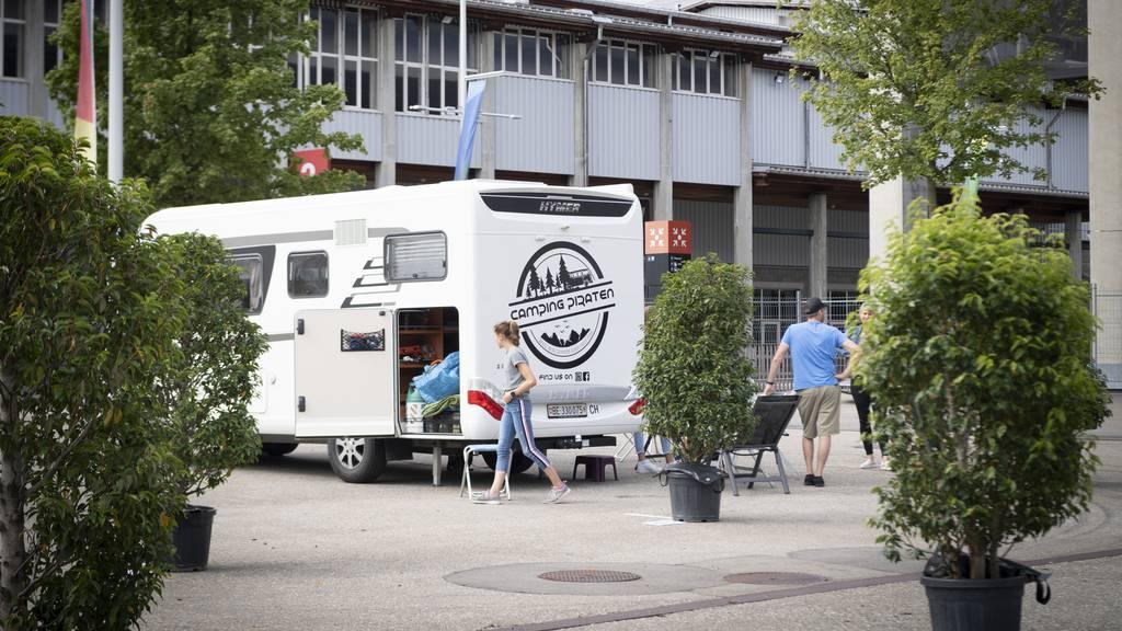 Zwei Wohnmobile pro Nacht – Olma-Camping lief nicht wie erhofft