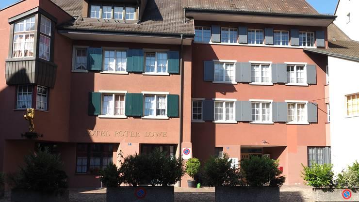 Der Kantonspolizei-Posten von Laufenburg