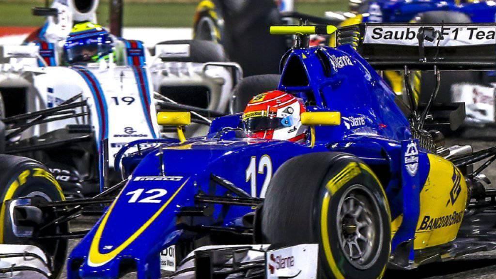 Der Formel-1-Rennstall Sauber hat die März-Löhne ausbezahlt