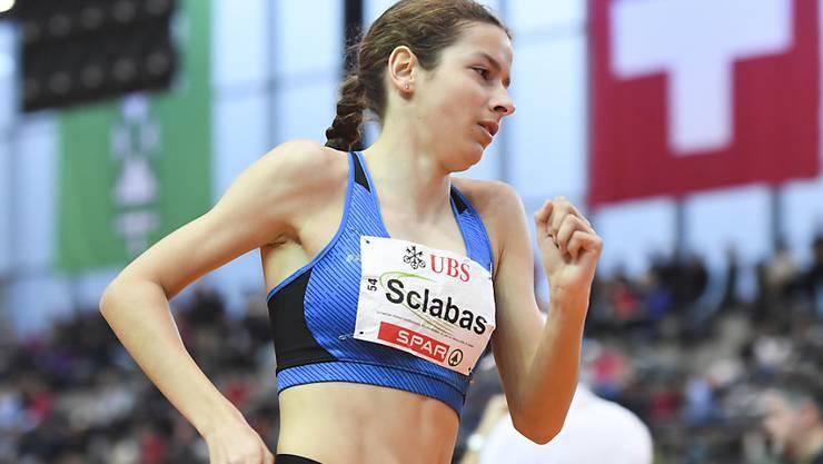 Delia Sclabas ist von der Stiftung Schweizer Sporthilfe als beste Nachwuchsathletin 2019 ausgezeichnet worden