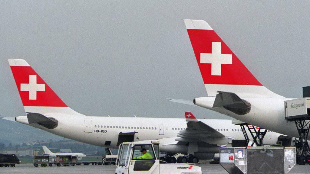 Gategroup in der Verlustzone: Beladen eines Swiss-Flugzeugs in Zürich. (Archiv)