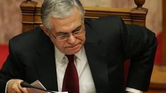 Der neue griechische Ministerpräsident Papademos ist zuversichtlich, dass Griechenland die Krise bewältigen kann (Archiv)