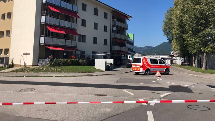 Auch dieses Mehrfamilienhaus wurde wegen des Bombenfunds evakuiert.