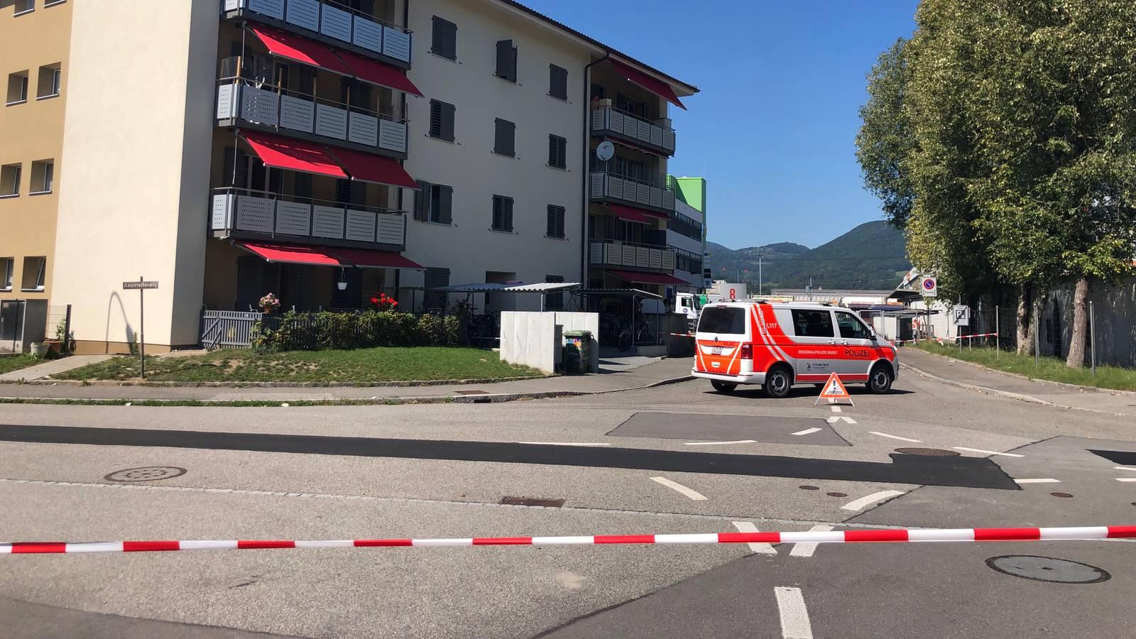 Bombenfund in Buchs (04.09.19) (© Daniel Arnold/Tele M1)