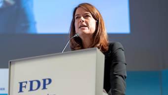 FDP-Parteipräsidentin Petra Gössi.
