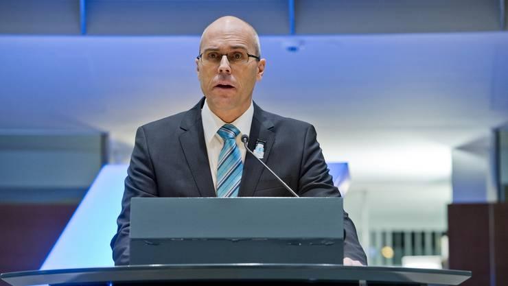 Dieter Egloff, Präsident des Bankrats der Kantonalbank.
