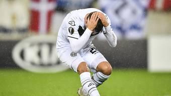 Es will einfach nicht passen: Lugano haftet in der Europa League das Pech an den Füssen