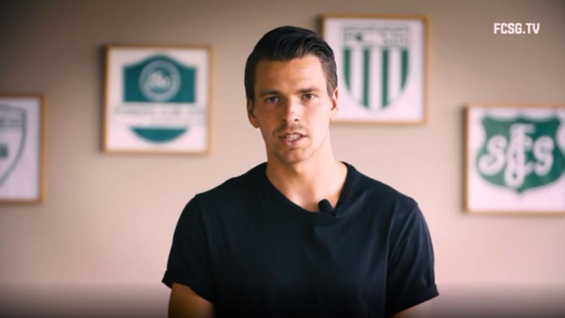 Lukas Görtler gibt im Video Auskunft über seine Zukunft beim FC St.Gallen.