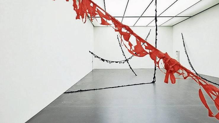 Impressionen aus der Ausstellung von Marion Baruch im Kunstmuseum Luzern.