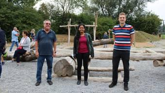 Hansruedi Werder, Katja Glogner und Urs Truttmann (v. l.).
