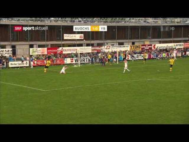 SC Buochs - Young Boys 1:0, 20.09.2014