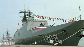 Eines der sechs französischen Lafayette-Kriegsschiffe (Archivbild)
