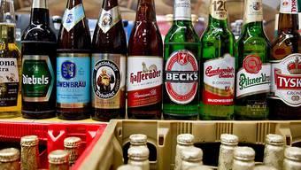Beck's, Budweiser oder Corona: AB Inbev ist der weltgrösste Bierbrauer. (Archivbild)