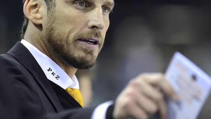 Lugano-Trainer Patrick Fischer freut sich auf den Spengler Cup