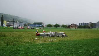 Kleinflugzeug bei Sarnen abgestürzt