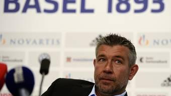 Am Donnerstag stellte der FCB seinen neuen Trainer vor: Urs Fischer. Der zeigt sich optimistisch, dass er der Mannschaft seinen Stempel aufdrücken kann.