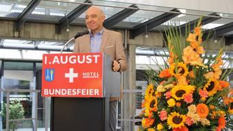 Bundesfeier in Geroldswil mit Festredner Daniel Jositsch