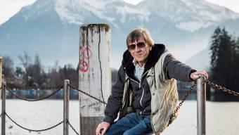 Polo Hofer will kürzertreten und sein Leben, wie hier in Thun, nur noch geniessen.sandra ardizzone